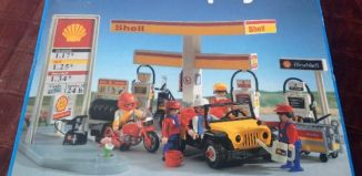 Playmobil - 3437v2-esp - Shell Gas Station