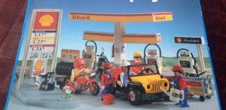 Playmobil - 3437v2-esp - Station service Shell