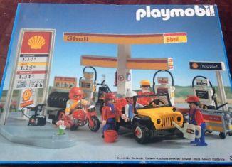 Playmobil - 3437v2-esp - Shell Gas Station