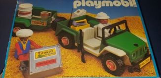 Playmobil - 3532-esp - Green jeep in the desert