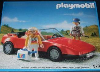 Playmobil - 3708v2-esp - Red Sportscar