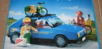 Playmobil - 3739-esp - Family car