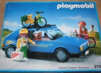 Playmobil - 3739-esp - Touring sedan / roof rack