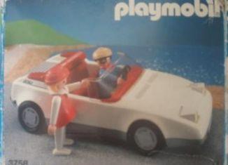 Playmobil - 3758-esp - White Sportscar