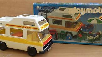 Playmobil - 3258-lyr - Family camper