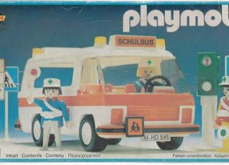 Playmobil - 3521v1-lyr - School bus