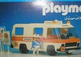Playmobil - 3521v2-lyr - School bus