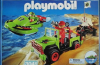 Playmobil - 3041-usa -  Jeep with Speedboat