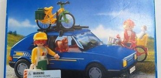 Playmobil - 3739-usa - Family car