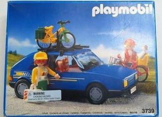 Playmobil - 3739-usa - Family car