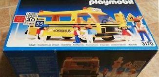 Playmobil - 3170s1v2-usa - Schoolbus