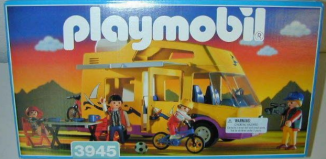 Playmobil - 3945-usa - Vacation camper