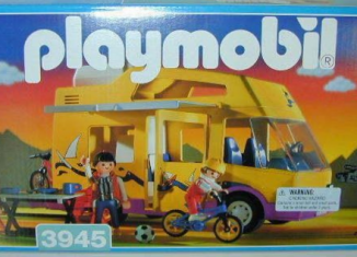 Playmobil - 3945-usa - Famille / camping-car