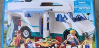 Playmobil - 6671-usa - Family camper