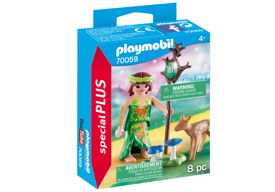 Playmobil 70059 - Elf With Deer - Box