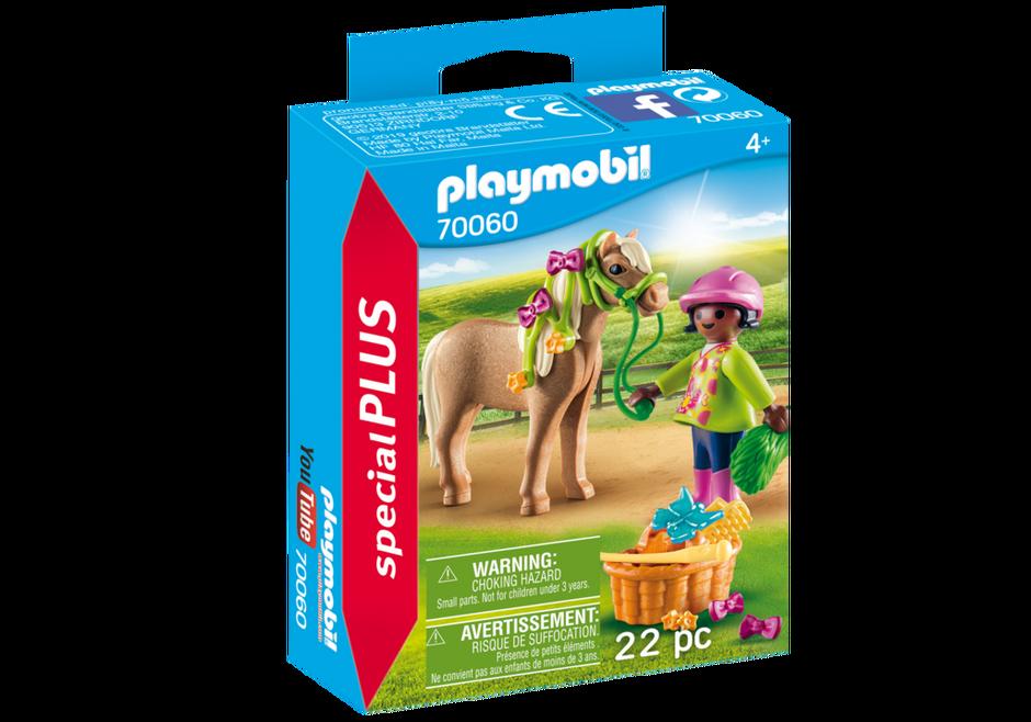 Playmobil 70060 - Girl With Pony - Box
