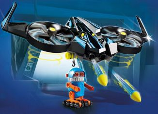 Playmobil - 70071 - PLAYMOBIL:THE MOVIE Robotitron with Drone