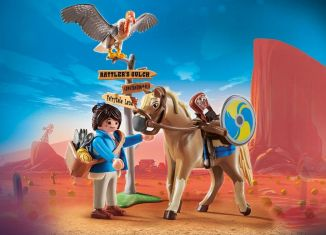 Playmobil - 70072 - Marla with Horse