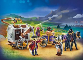 Playmobil - 70073 - PLAYMOBIL:THE MOVIE Charlie with Prison Wagon
