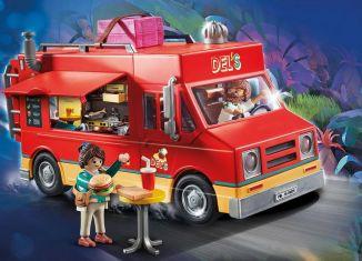 Playmobil - 70075 - Del's Food Truck