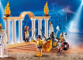 Playmobil - 700776 - PLAYMOBIL:THE MOVIE Emperor Maximus in the Colosseum