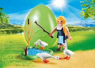 Playmobil - 70083 - The Goose Girl