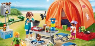 Playmobil - 70089 - Family Camping