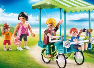 Playmobil - 70093 - Family Bicycle