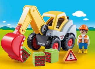 Playmobil - 70125 - Shovel Excavator