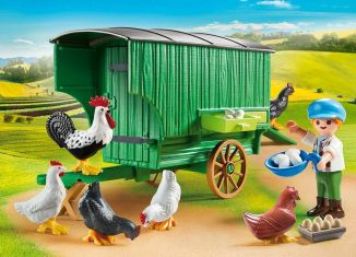 Playmobil - 70138 - Mobile Chicken House