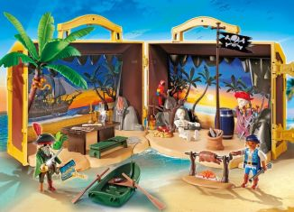 Playmobil - 70150 - Takeaway Pirateninsel