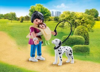 Playmobil - 70154 - Mom with Baby