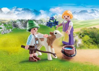 Playmobil - 70155 - Child With Calf