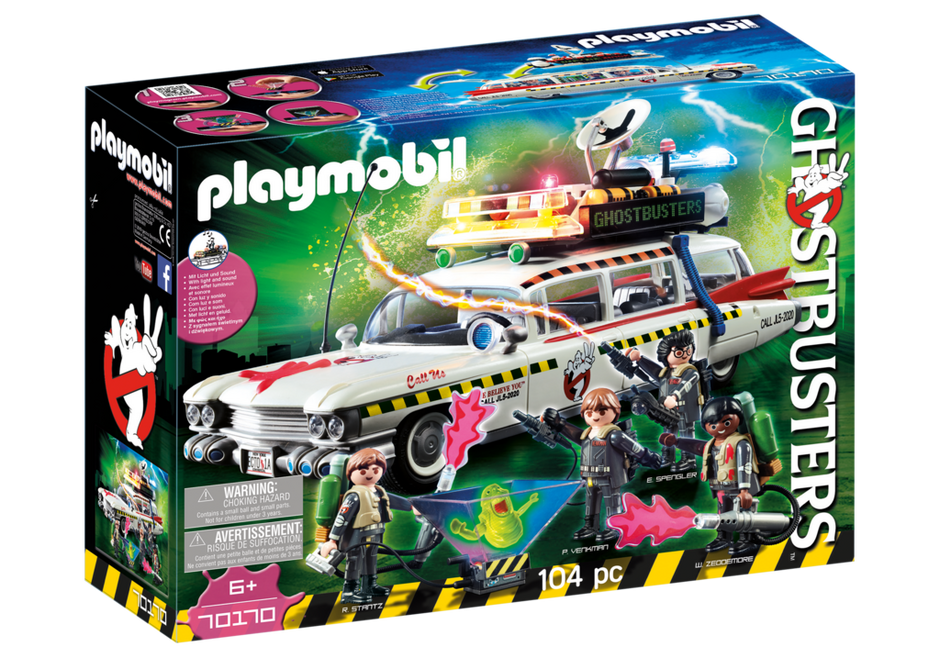 Playmobil 70170 - Ghostbusters Ecto-1A - Box
