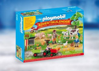 Playmobil - 70189 - Advent Calendar On The Farm