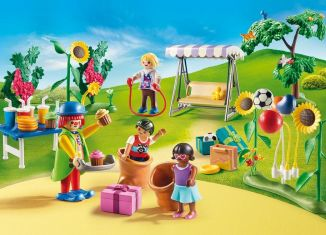 Playmobil - 70212 - Kids Birthday With Clown