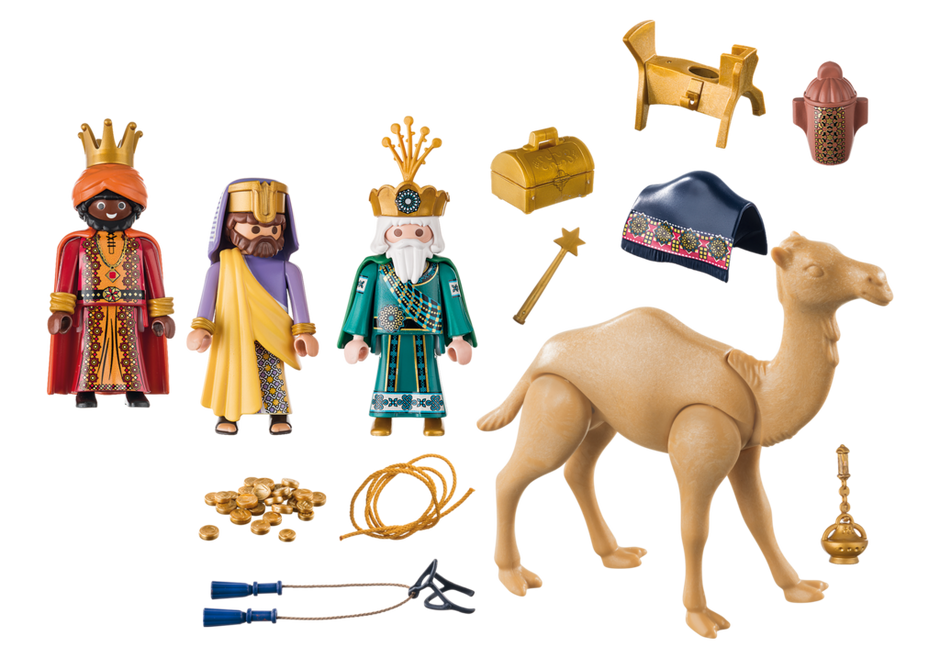Playmobil 9497 - Three Wise Kings - Back