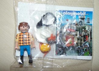 Playmobil - 0000 (30 00 0623) - Cowboy with bag of gold