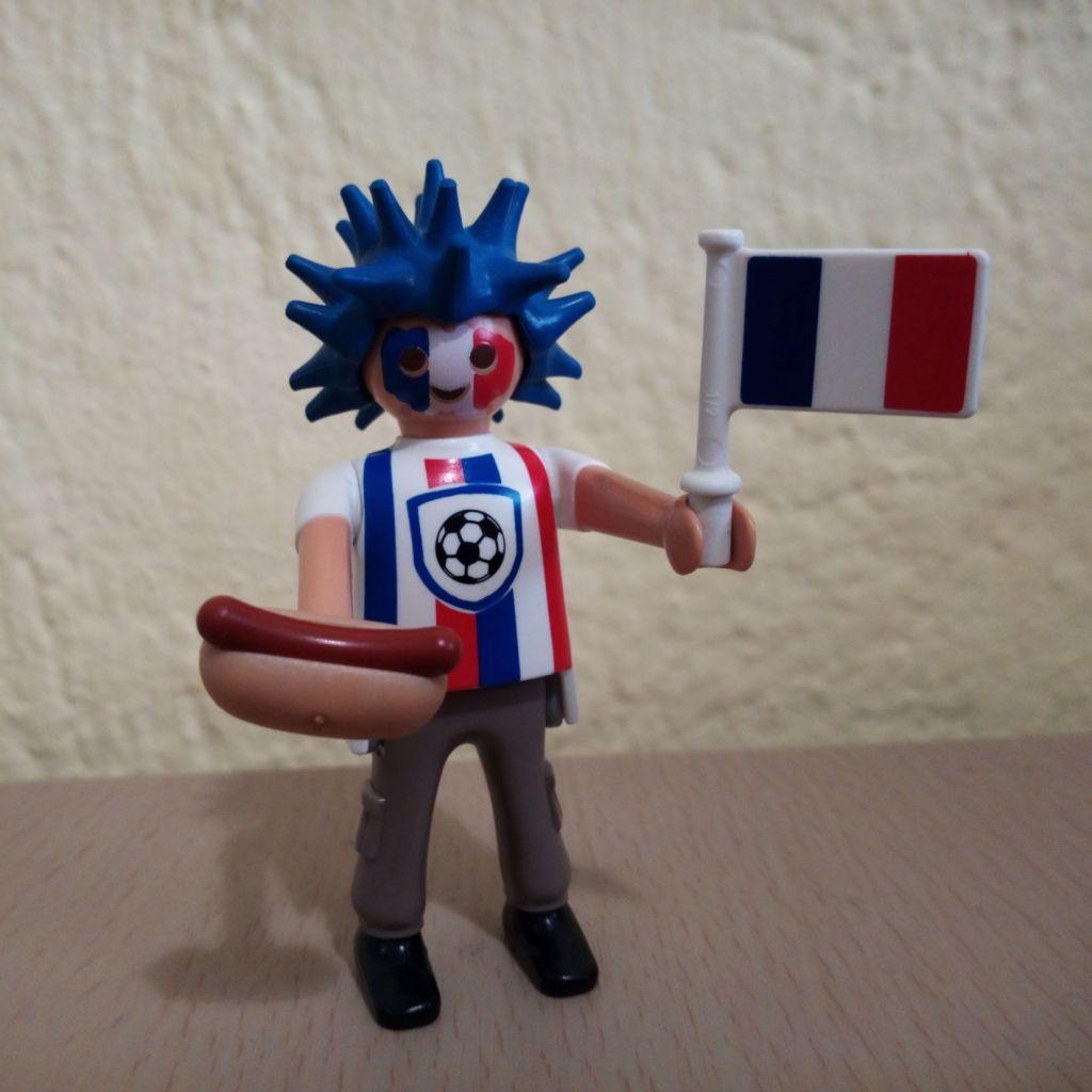 Playmobil 6840v2 - France football fan - Box