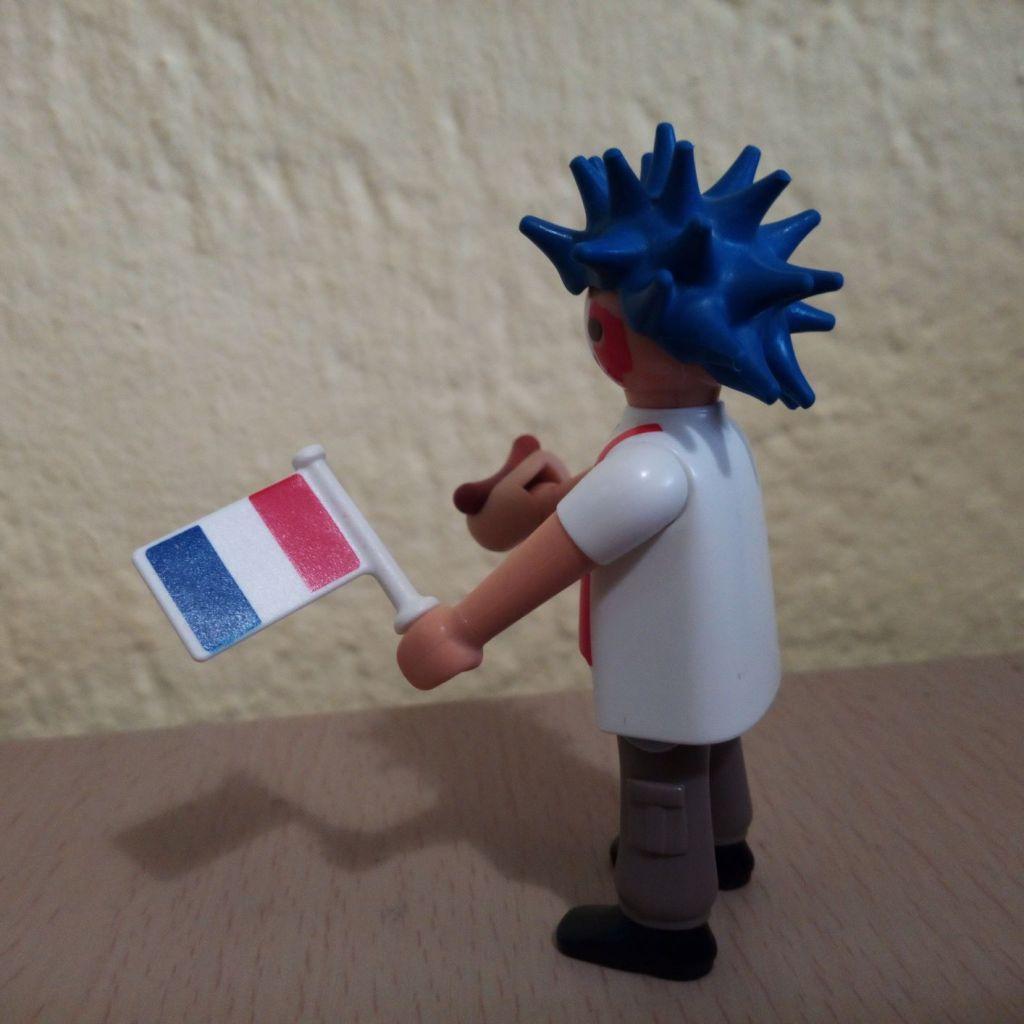 Playmobil 6840v2 - France football fan - Back