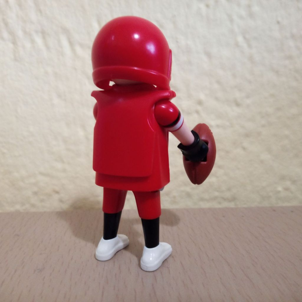 Playmobil 70025-01 - Football player - Back