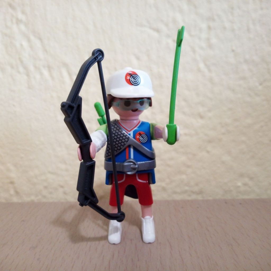 Playmobil 9443v3 - Sports archer - Box