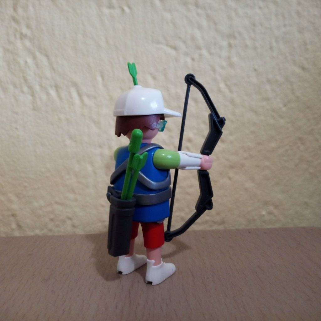 Playmobil 9443v3 - Sports archer - Back