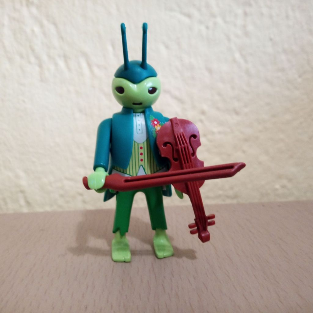 Playmobil 70025v3 - Musician grasshopper - Box