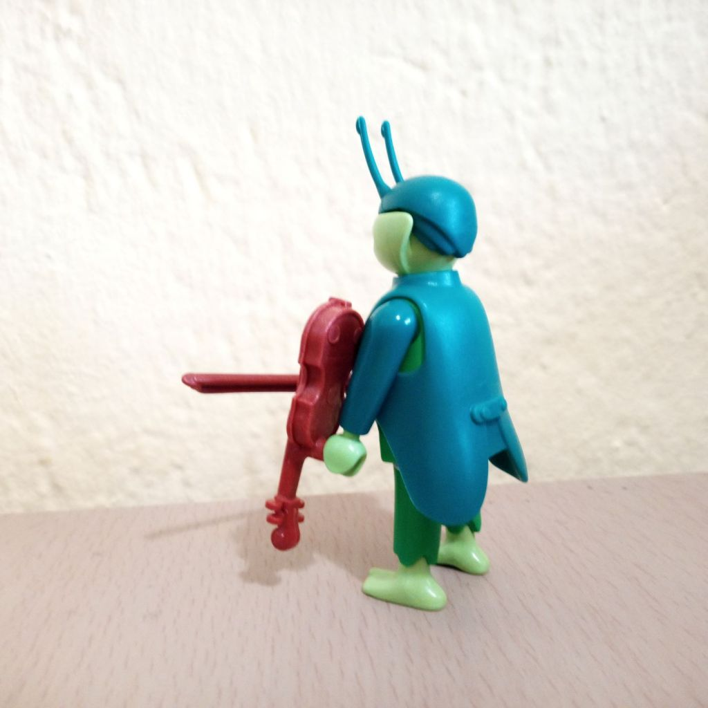 Playmobil 70025v3 - Musician grasshopper - Back