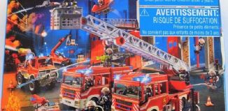 Playmobil - 86758-ger - Mini-puzzle fire-man
