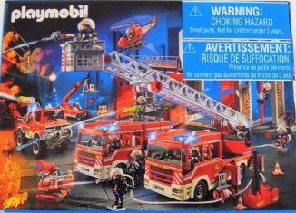 Playmobil - 86758-ger - Mini-puzzle fire-man