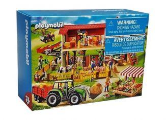 Playmobil - 86766-ger - Mini-puzzle farm