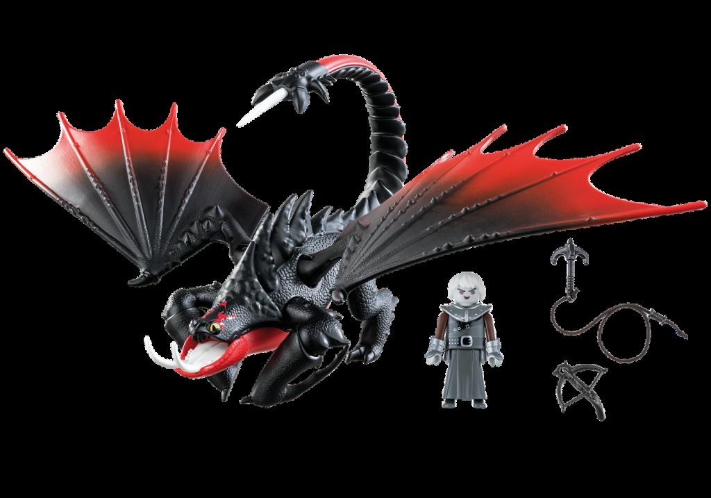 Playmobil 70039 - Villano y dragón - Back