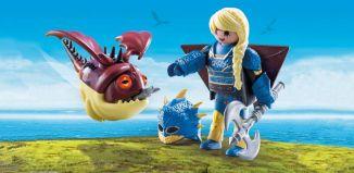 Playmobil - 70041 - Astrid con dragón